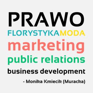 Monika Kmiecik Muracka zawodowo